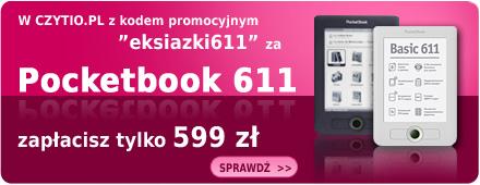 Czytio.pl - promocja Pocketbooka 611