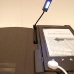 Okładka z lampką na Sony PRS-T2